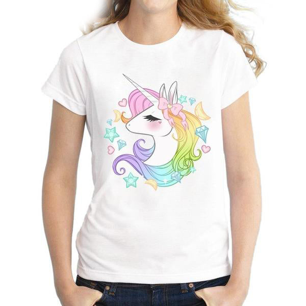 Lovely Unicorn T Shirt - CuteFTW