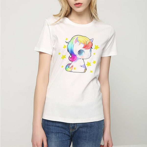 Chibi Unicorn T Shirt - CuteFTW