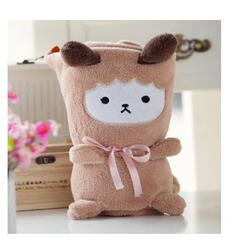 Cute Animals Soft Fleece Blankets Bear