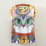 Egyptian Cat T Shirt - CuteFTW
