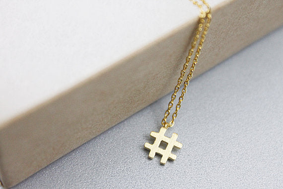 Hashtag Twitter Necklace - CuteFTW