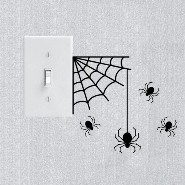 Spiders Vinyl Wall Stickers - CuteFTW