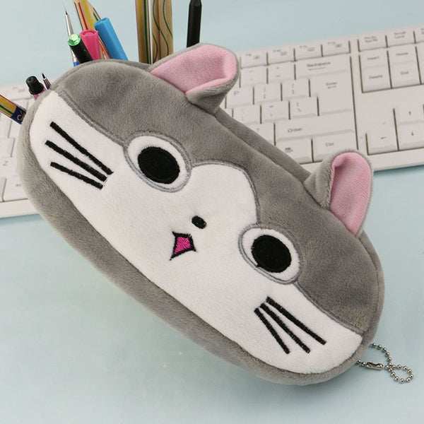 Cute Animals Plush Pencil Cases - CuteFTW