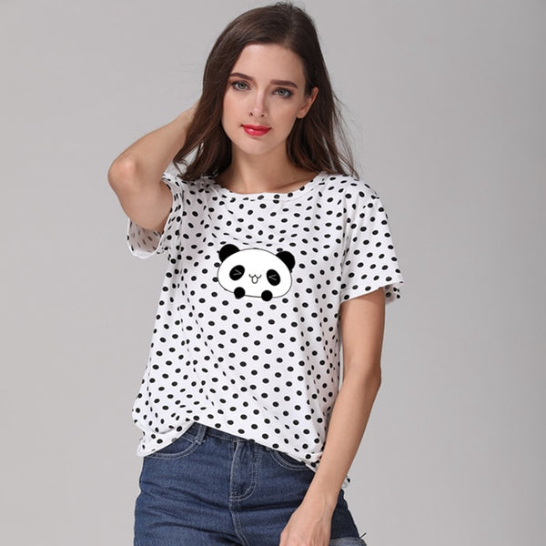Cute Panda T Shirt - CuteFTW