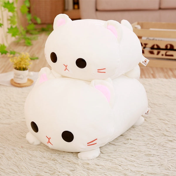 Cute Cat Plush Pillow Toy - CuteFTW
