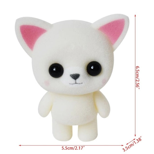 Cute Mini Plush White Cat - CuteFTW