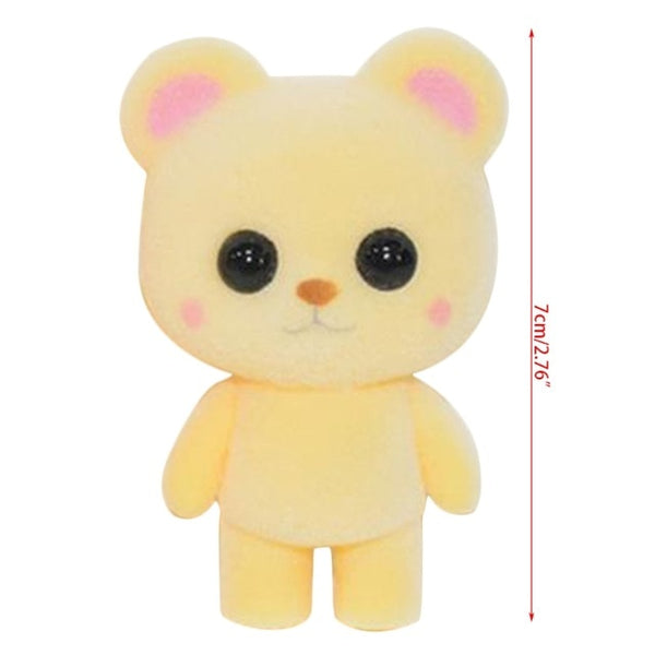 Cute Mini Plush Yellow Bear - CuteFTW