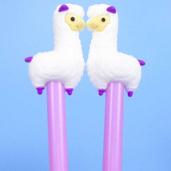 Cute Alpaca Gel Pen - CuteFTW