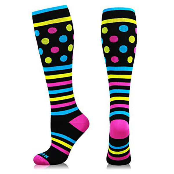 Cute Blast Nylon Stretch Socks - CuteFTW