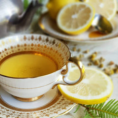 tea organic natural loose teacup premium lemon ornate