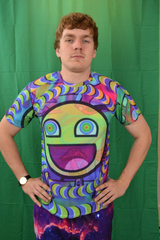 Trippy Smiley Tee
