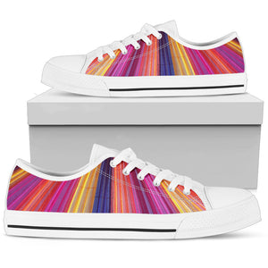 Rainbow Delight - Women's Low Top Shoes