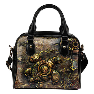 Turtle Steampunk Handbag