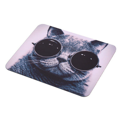 Hipster Cat Mousepad