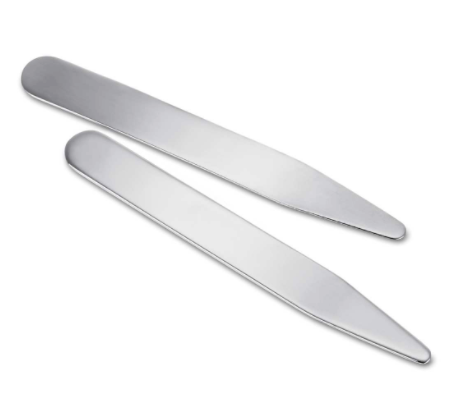 Blue Nile sterling silver collar stays