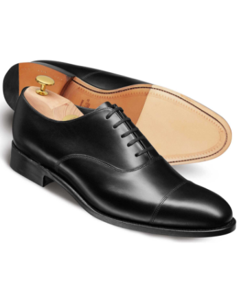 black oxford captoe