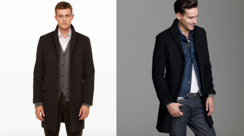 men's top coat