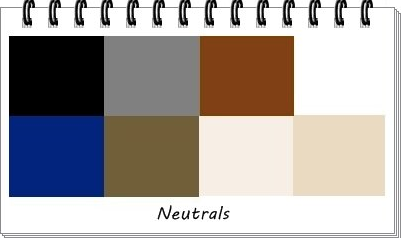 neutral colours for t-shirts