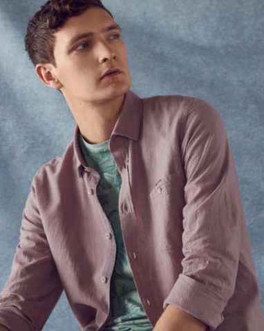 Ted Baker Cotton/Linen blend shirt