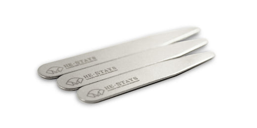three sizes collar stays