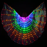Light Up Rainbow Butterfly Wing Costume