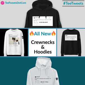 New Product Releases: Hoodies and Crewneck Sweatshirts