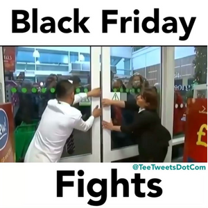 Black Friday, Cyber Monday Madness