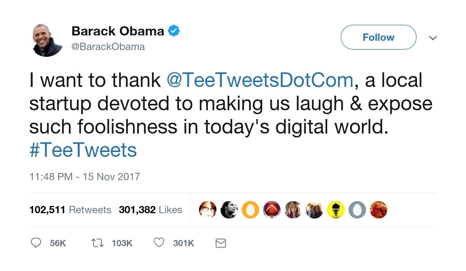 Barack Obama Dominated Twitter in 2017