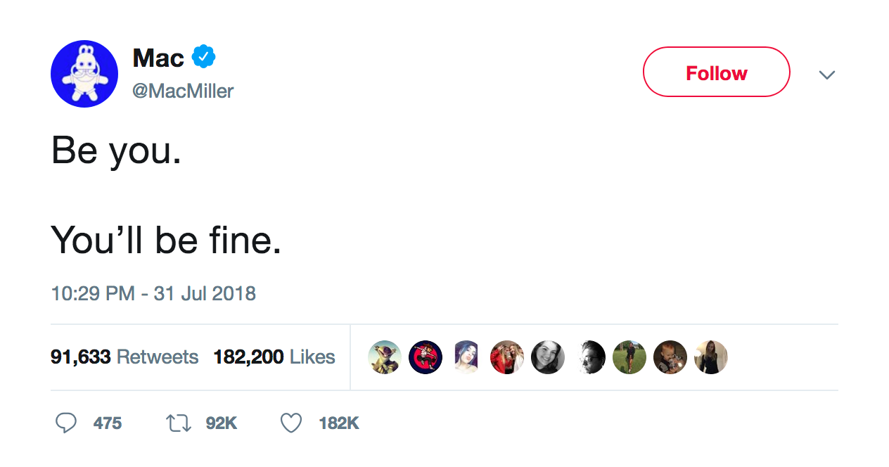 mac-miller-be-you-youll-be-fine-tweet-tee-tweets