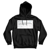 Andrew Yand free HBO password to watch Game of Thrones tweet on a black hoodie from Tee Tweets