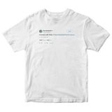 Anna Kendrick comes with fries 3 words better than I love you tweet white t-shirt from Tee Tweets