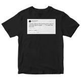 Ariana Grande I'm really that bitch huh tweet on a black t-shirt from Tee Tweets