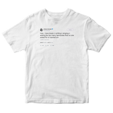 Ariana Grande love making music no one wanted tweet on a white t-shirt from Tee Tweets