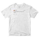 Ashanti hey yall what do you think about facebook white tweet shirt