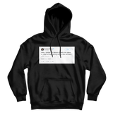 Barack Obama finally get my own Twitter account tweet on a black hoodie from Tee Tweets