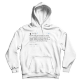 Barack Obama inspired by the youth tweet on a white hoodie from Tee Tweets