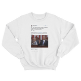 Barack Obama wishes interrupting Joe Biden happy birthday white tweet sweater