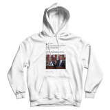 Barack Obama wishes interrupting Joe Biden happy birthday white tweet hoodie