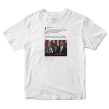 Barack Obama wishes interrupting Joe Biden happy birthday white tweet shirt