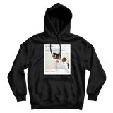 Barack Obama no one is born hating another person because of the color of their skin black tweet hoodie
