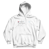 Chance The Rapper you are the living word white tweet hoodie