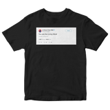 Chance The Rapper you are the living word black tweet shirt