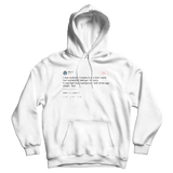 Cher hurt someones feelings sorry bye white tweet hoodie