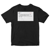 Cher hurt someones feelings sorry bye black tweet shirt
