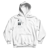 Childish Gambino this is America white tweet hoodie