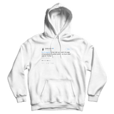 Chrissy Teigen John Legend mom and dad on Twitter tweet on a white hoodie from Tee Tweets