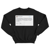 Donald Trump Chicago violence sending in federal help black tweet sweater