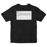 Donald Trump Chicago violence sending in federal help black tweet shirt