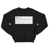 Donald Trump despite the constant negative press covfefe black tweet sweater