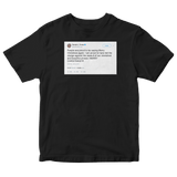 Donald Trump proud to say Merry Christmas again tweet on a black t-shirt from Tee Tweets